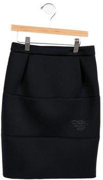 Armani Junior Girls' Knee-Length Skirt