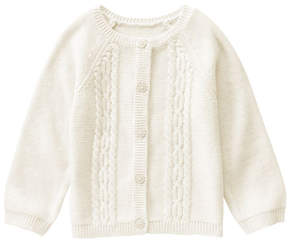 Gymboree Snow Bunny Cable-Knit Cardigan - Infant & Toddler