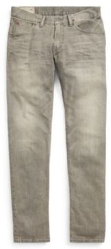 Ralph Lauren Hampton Straight Fit Jean Rutland Grey Stretch 28