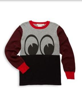 Stella McCartney Toddler's, Little Boy's & Boy's Colorblock Eyes Sweatshirt