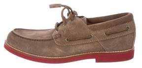 Louis Vuitton Initiales Boat Shoes