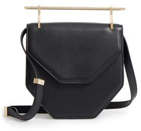 M2Malletier Amor Fati Single Calfskin Leather Shoulder Bag