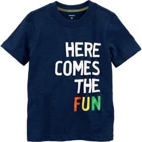 Carter's Toddler Boys Here Comes Fun T- Shirt