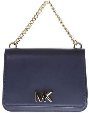 MICHAEL Michael Kors Blue Leather Shoulder Bag
