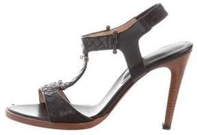 Bottega Veneta Intrecciato Slingback Sandals