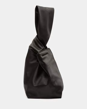 Theory Small Urban Bucket Bag in Satin
