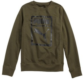 Puma Boy's Heritage Crewneck Sweatshirt