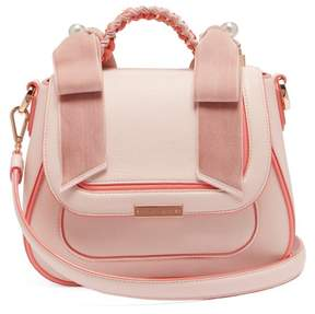 Sophia Webster Eloise Leather Shoulder Bag - Womens - Light Pink