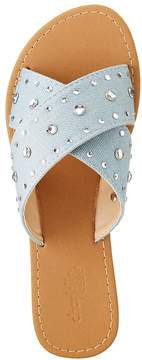 Charlotte Russe Embellished Slide Sandals