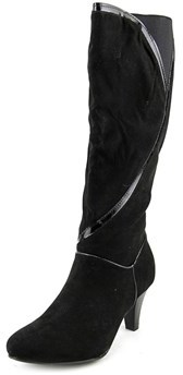Karen Scott Mailaa W Round Toe Synthetic Knee High Boot.