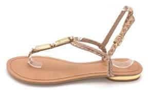 Mia Womens Issland Open Toe Beach T-strap Sandals.
