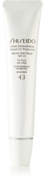 Shiseido - Sun Urban Environment Tinted Uv Protector Spf43 - Shade 3, 30ml