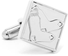Ice Silver Edition Red Sox Cufflinks