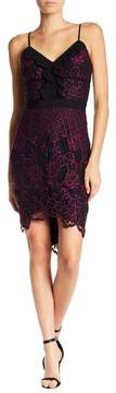 Adelyn Rae Lena Lace Sheath Dress