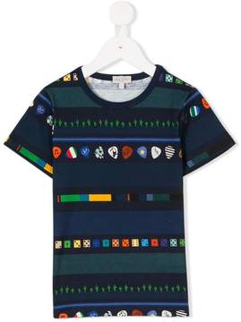 Paul Smith multi-pattern T-shirt