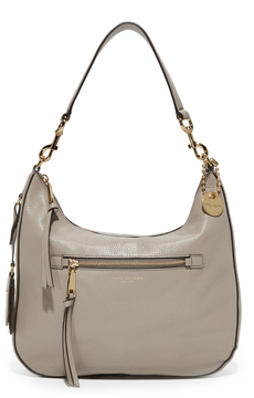 Marc Jacobs Recruit Hobo Bag - MINK - STYLE