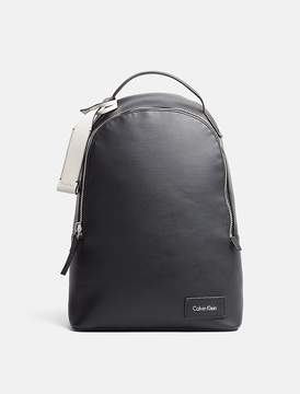 Calvin Klein Jeans Canvas-Textured Logo Backpack