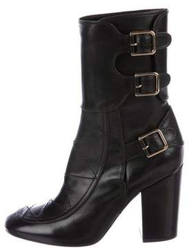Laurence Dacade Merli Leather Mid-Calf Boots