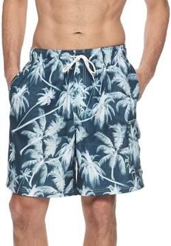 Croft & Barrow Men's Classic-Fit Palm Tree Swim Trunks