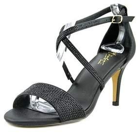 Thalia Sodi Dulce Women Open-toe Synthetic Black Heels.