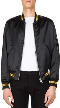 The Kooples Shiny Teddy Bomber Jacket
