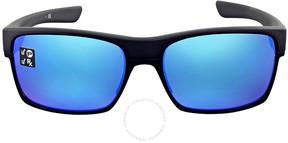 Oakley TwoFace Polarized Sapphire Iridium Sunglasses