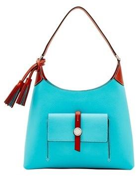 Dooney & Bourke Cambridge Small Hobo Shoulder Bag. - CALYPSO - STYLE
