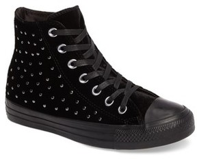 Converse Women's Chuck Taylor All Star Studded High Top Sneakers