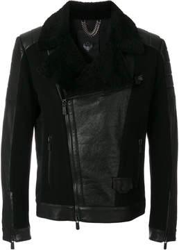 Frankie Morello leather biker jacket