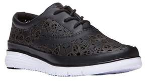 Propet Women's Harper Leather, Eva Fashion Sneakers.