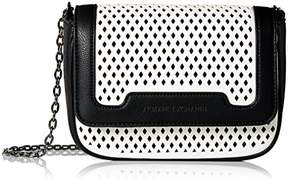 Armani Exchange A X Small Perforated Crossbody Bag