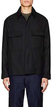 Lemaire Men's Wool Twill Shirt Jacket