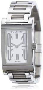 Bvlgari Pre-owned: Rettangalo Watch.