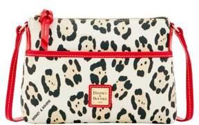 Dooney & Bourke Serengeti Ginger Crossbody Shoulder Bag - LEOPARD RED - STYLE