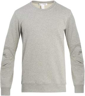 Comme des Garcons Articulated-sleeved cotton-jersey sweatshirt