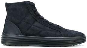 Hogan quilted hi-top sneakers