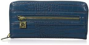 Anne Klein Women's Alligator Alley Zip Around Wallet Small