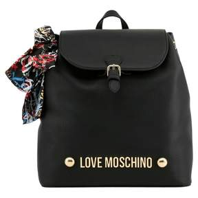 Moschino Love Black Synthetic Backpacks