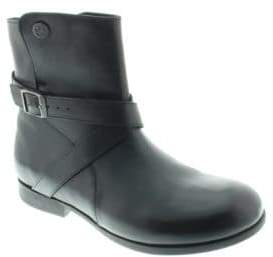 Birkenstock Collins Leather Side-Zip Ankle Boots