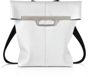 Maison Margiela White Foldover Backpack
