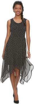 Elle Women's ElleTM Handkerchief Fit & Flare Dress