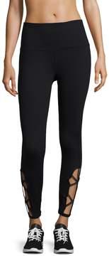 Gaiam Women's Om Lana Foil Hi Rise Legging