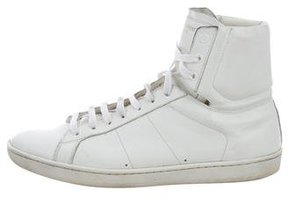 Saint Laurent SL/01H Leather Sneakers