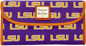 Dooney & Bourke NCAA LSU Continental Clutch - LSU - STYLE