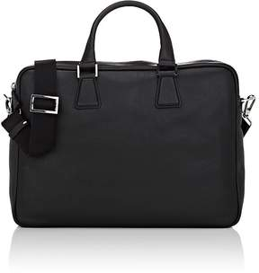 Barneys New York MEN'S DOUBLE-HANDLE LEATHER BRIEFCASE