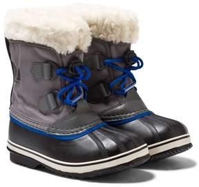 Sorel Grey Yoot Pac Nylon Boots