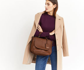 Oasis Marley Scallop Cross-Body