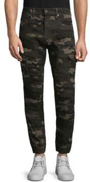 ProjekRaw Camouflage Cargo Pants