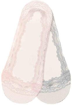 Aldo Women's Lace Women's's No Show Liners - 2 Pack