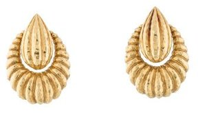 David Webb 18K Drop Earrings